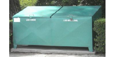 LIXEIRA 1600 LITROS
